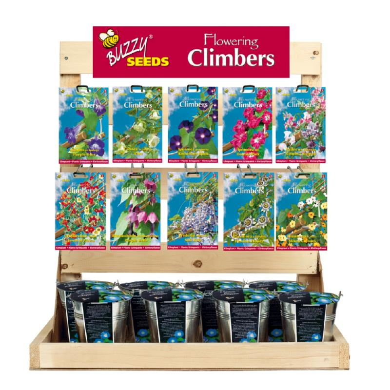 Inlading Buzzy® Display Flowering Climbers (1)