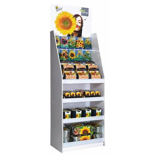 Buzzy® Display Zonnebloem thema 60x40 (1)