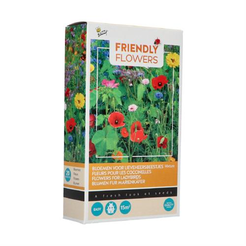Buzzy® Friendly Flowers Lieveheersbeestjes15m² (16)
