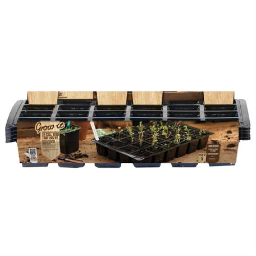 Grow-it  24 Vaks Zaai tray  37x23 5st. (30) 08530