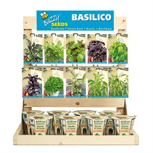 Inlading Buzzy® Display Basilicum Collection (1)