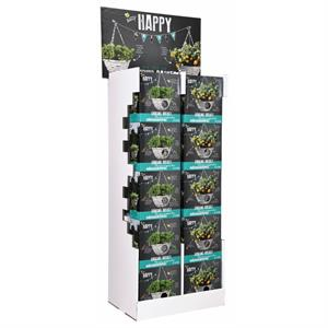 Buzzy® Display Happy Garden, Hanging Baskets 2x15 (1)
