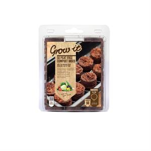 Grow-it Plant Plugs 50st Ø3cm (12) 086.36