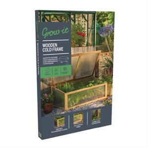 Grow-it Koude Bak hout kweekkas (1) 088.95