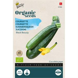 Buzzy® Organic Courgette Black Beauty  (BIO)