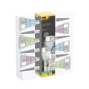 Cole & Bright Mosaic Border Lights - 6 pack (30) L211.04